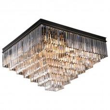 Накладной светильник Newport 31100 31117/PL black+gold