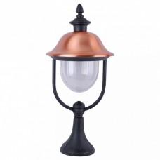 Наземный низкий светильник Arte Lamp Barcelona A1484FN-1BK