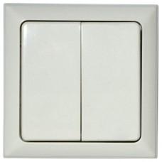 Выключатель двухклавишный Imex RCS.590 RCS.590.58