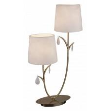Настольная лампа декоративная Mantra Andrea Cuero Satinado 6338