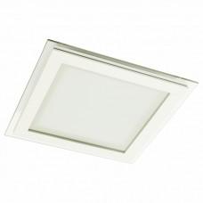 Встраиваемый светильник Arte Lamp Raggio A4018PL-1WH
