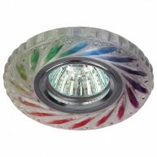 Встраиваемый светильник Эра DK LD13 DK LD13 SL RGB/WH