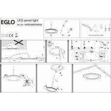 Встраиваемый светильник Eglo Fueva 1 94055