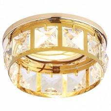 Встраиваемый светильник Ambrella Crystal 101 K101 CL/G
