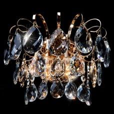 Накладной светильник Eurosvet 10081 10081/2 золото/прозрачный хрусталь Strotskis