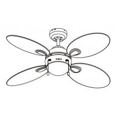 Светильник с вентилятором Globo Wade 318