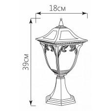 Наземный низкий светильник Feron Афина 11485