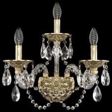 Бра Bohemia Ivele Crystal 1610 16102B/2+1/165/XL G