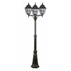 Фонарный столб Arte Lamp Berlin A1017PA-3BN