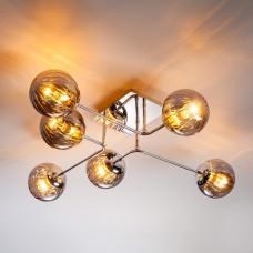 Потолочная люстра Оптима Evita 30140/6 хром