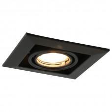 Встраиваемый светильник Arte Lamp A5941 A5941PL-1BK
