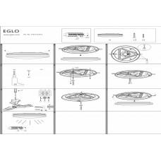 Накладной светильник Eglo Frania 97871