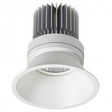 Встраиваемый светильник Ideal Lux Summer SUMMER 486.1-12W-WT