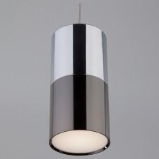 Подвесной светильник Eurosvet Mini Topper 50146/1 хром/черный жемчуг