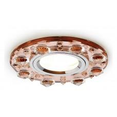 Встраиваемый светильник Ambrella Crystal K225 K225 BR