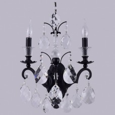 Бра Crystal Lux MAGNIFICO MAGNIFICO AP2 BLACK/TRANSPARENT