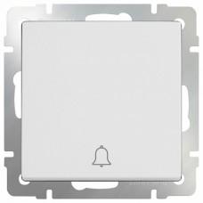 Кнопка звонка без рамки Werkel Белый WL01-04-01