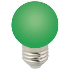 Лампа светодиодная Volpe Sky E27 1Вт K LED-G45-1W/GREEN/E27/FR/С
