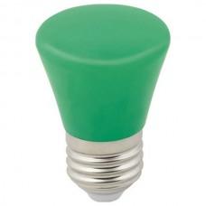 Лампа светодиодная Volpe Décor Color E27 1Вт K LED-D45-1W/GREEN/E27/FR/С BELL