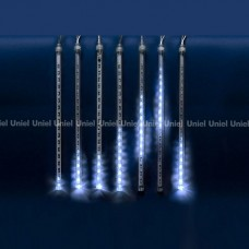 Занавес световой [2.4x0.3 м] Uniel Meteor ULD-E2403-144/DTK WHITE IP44 METEOR