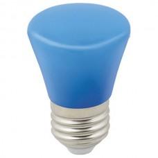 Лампа светодиодная Volpe Décor Color E27 1Вт K LED-D45-1W/BLUE/E27/FR/С BELL