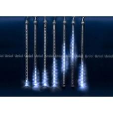 Занавес световой [2.4x0.3 м] Uniel Meteor ULD-E2403-144/DTK BLUE IP44 METEOR