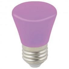 Лампа светодиодная Volpe Décor Color E27 1Вт K LED-D45-1W/PURPLE/E27/FR/С BELL