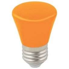 Лампа светодиодная Volpe Décor Color E27 1Вт K LED-D45-1W/ORANGE/E27/FR/С BELL