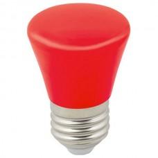 Лампа светодиодная Volpe Décor Color E27 1Вт K LED-D45-1W/RED/E27/FR/С BELL