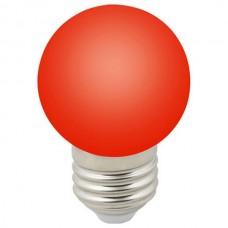 Лампа светодиодная Volpe Sky E27 1Вт K LED-G45-1W/RED/E27/FR/С