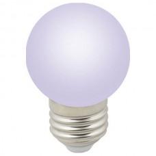 Лампа светодиодная Volpe Sky E27 1Вт K LED-G45-1W/RGB/E27/FR/С