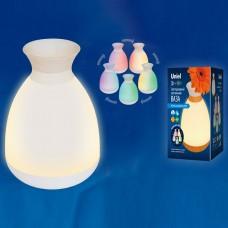 Ваза настольная Uniel ULD-R200 ULD-R200 LED/100Lm/3000K/RGB WHITE