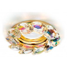 Встраиваемый светильник Ambrella Crystal K306 K306 PR/G