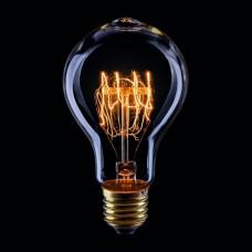Лампа накаливания Voltega Loft E27 60Вт 2200K VG6-A75A3-60W