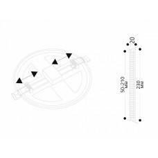 Встраиваемый светильник Arte Lamp Mesura A7976PL-1WH
