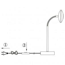 Настольная лампа офисная Globo Gilles 56217-1T