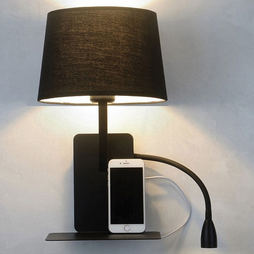 Бра с подсветкой Loft it Phone LOFT9993-BL