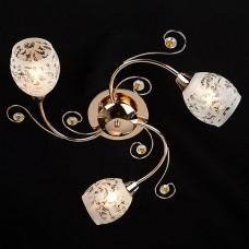 Потолочная люстра Оптима Roksana 9677/3 золото