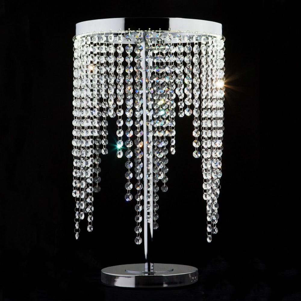Настольная лампа декоративная Eurosvet Royal 80412/1 хром 18W