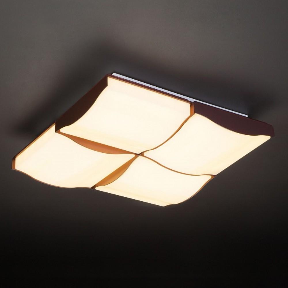 Накладной светильник Eurosvet Relief 90031/4 кофе 120W