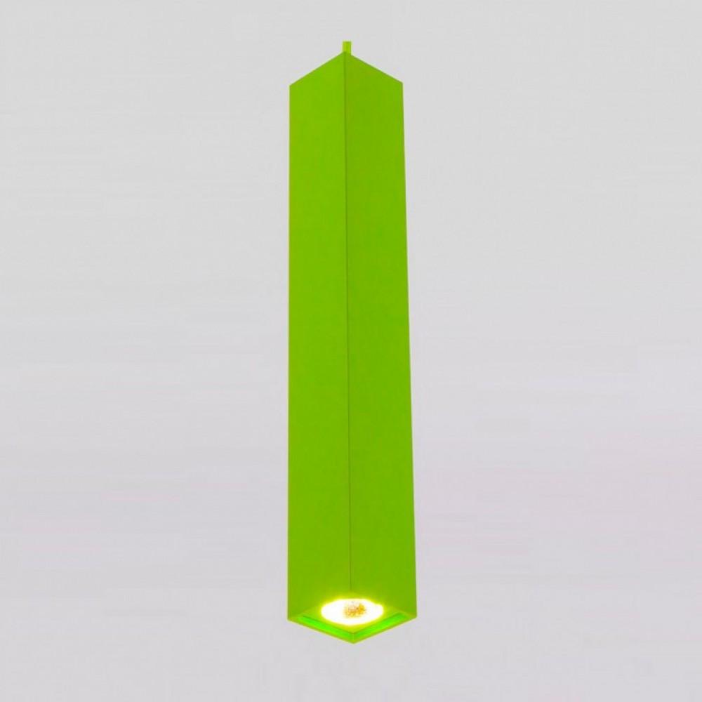 Подвесной светильник Eurosvet Cant 50154/1 LED зеленый 7W
