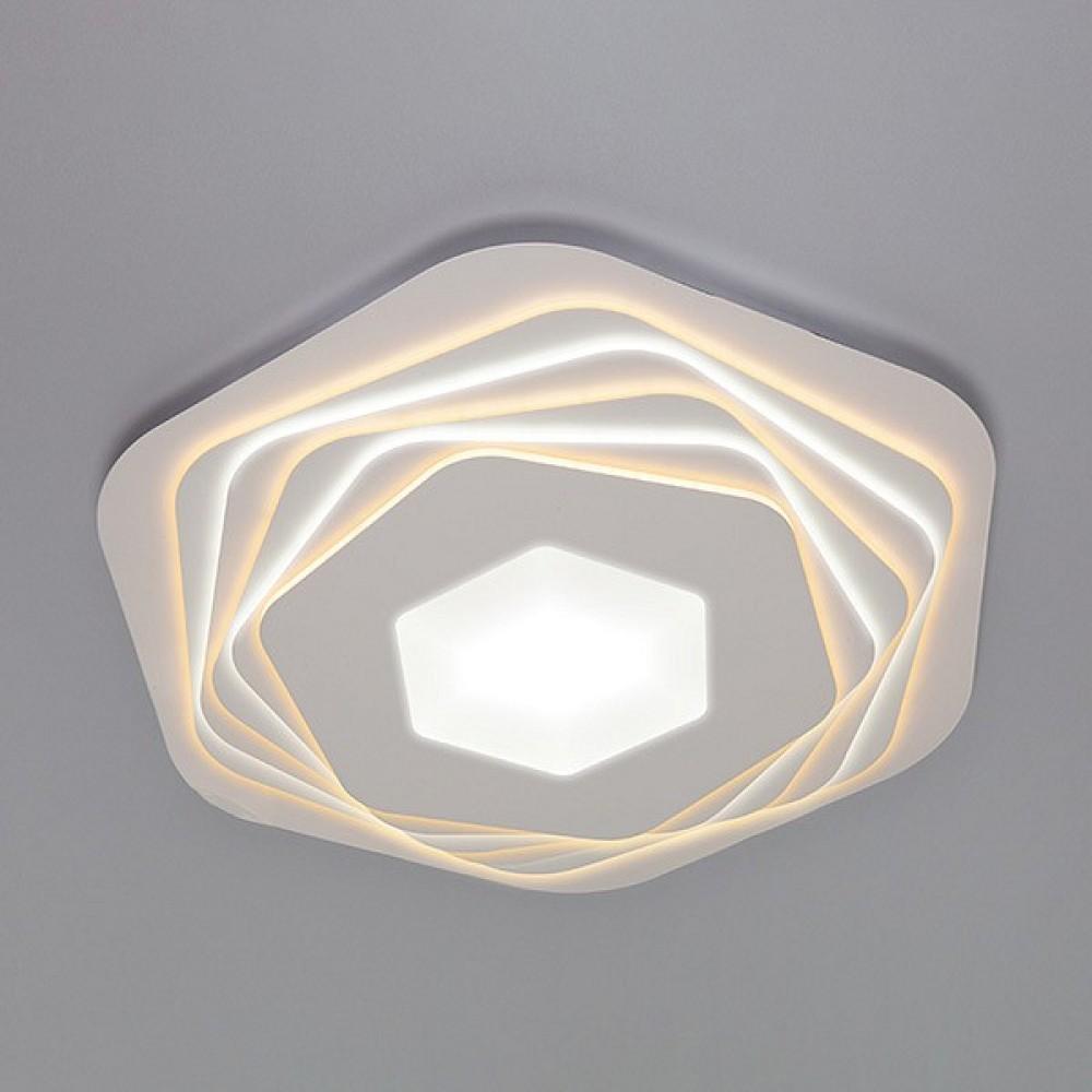 Накладной светильник Eurosvet Salient 90153/6 белый 295W