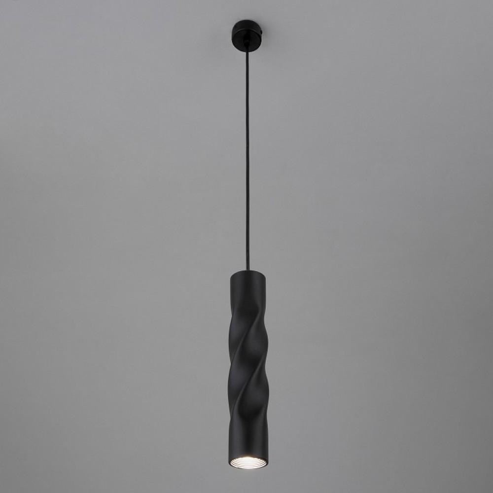 Подвесной светильник Eurosvet Scroll 50136/1 LED черный 5W