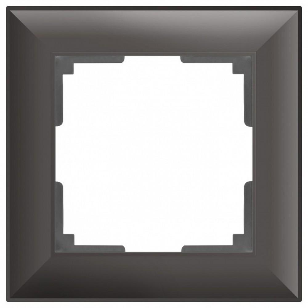 Рамка на 1 пост Werkel WL14 WL14-Frame-01 (Серо-коричневый)