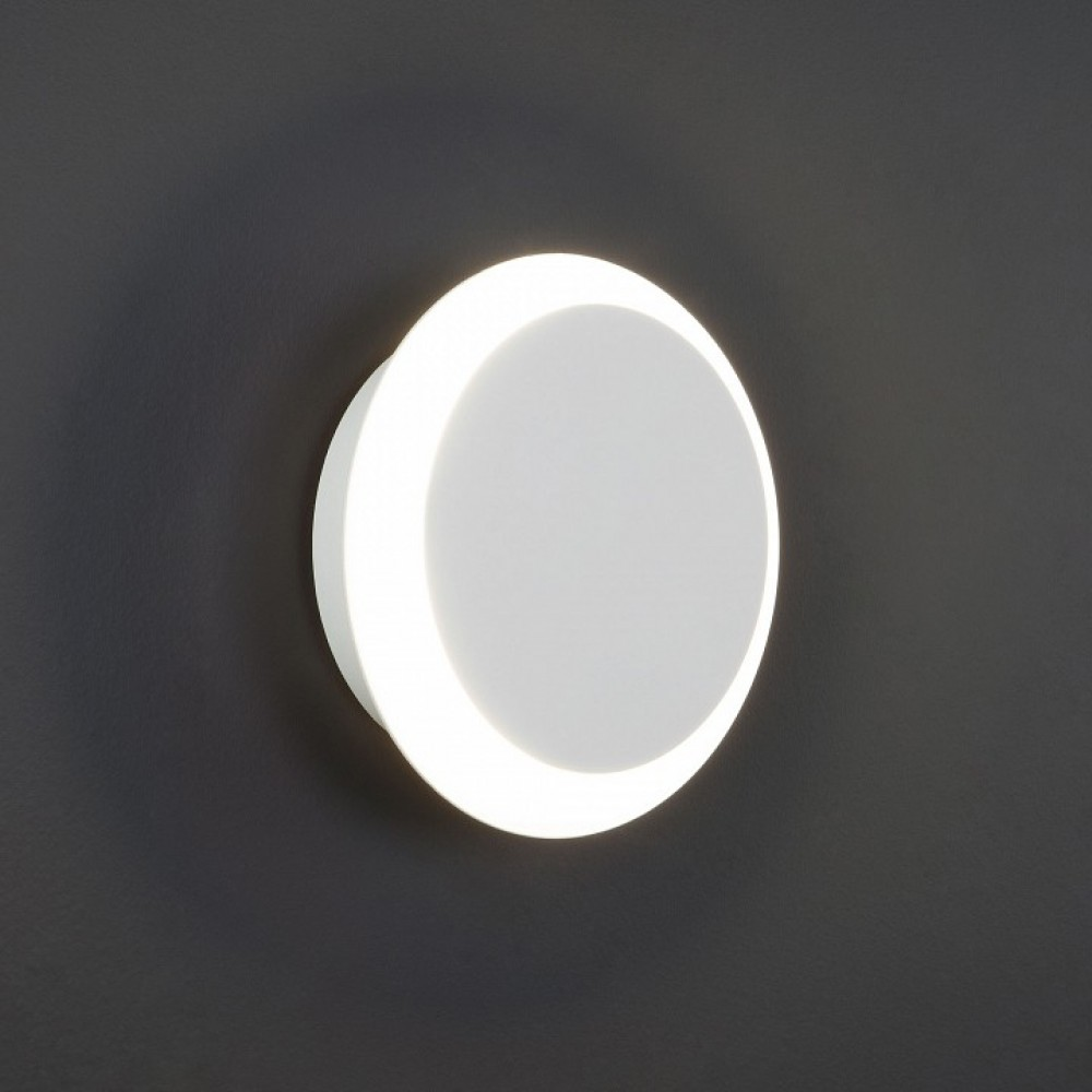 Накладной светильник Eurosvet Figure 40135/1 белый 6W