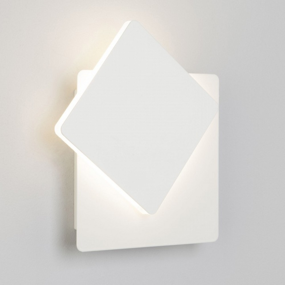 Накладной светильник Eurosvet Screw 40136/1 белый 6W