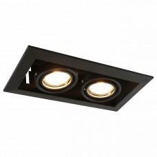 Встраиваемый светильник Arte Lamp A5941 A5941PL-2BK