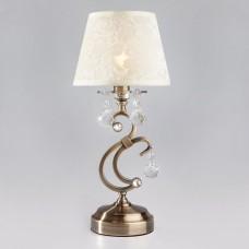 Настольная лампа декоративная Eurosvet Eileen 1448/1T античная бронза Strotskis настольная лампа