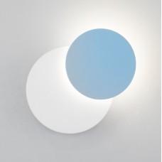 Накладной светильник Eurosvet Figure 40135/1 белый/голубой 6W