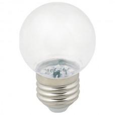 Лампа светодиодная Volpe Sky E27 1Вт 3000K LED-G45-1W/3000K/E27/CL/С